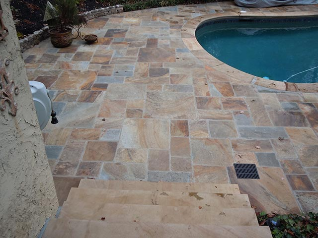 Indian-Sandstone-floor