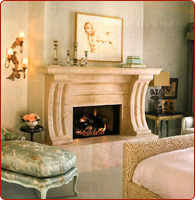 granite fireplace mantles