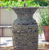 natural stone fountains