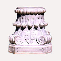 Marble stone bases
